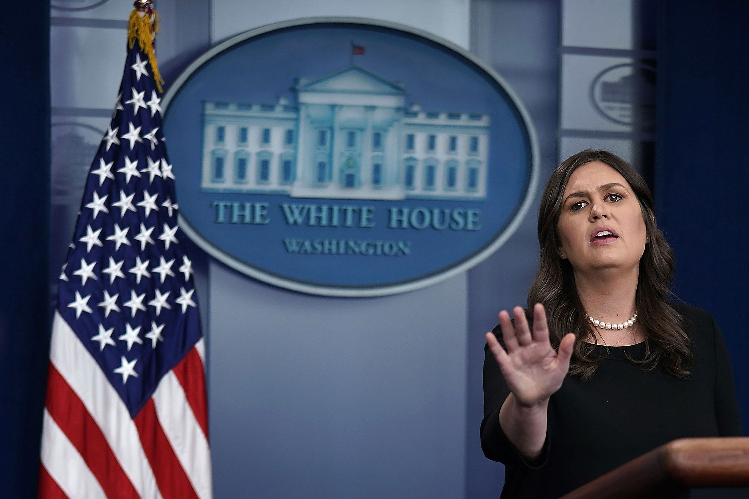 White House Reporters Lose It After Sarah Sanders Tries To Justify Taking Kids From