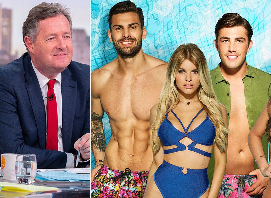 Piers Morgan Gets Rinsed After Tweeting He'd 'Accidentally' Seen His First Episode Of 'Love Island'