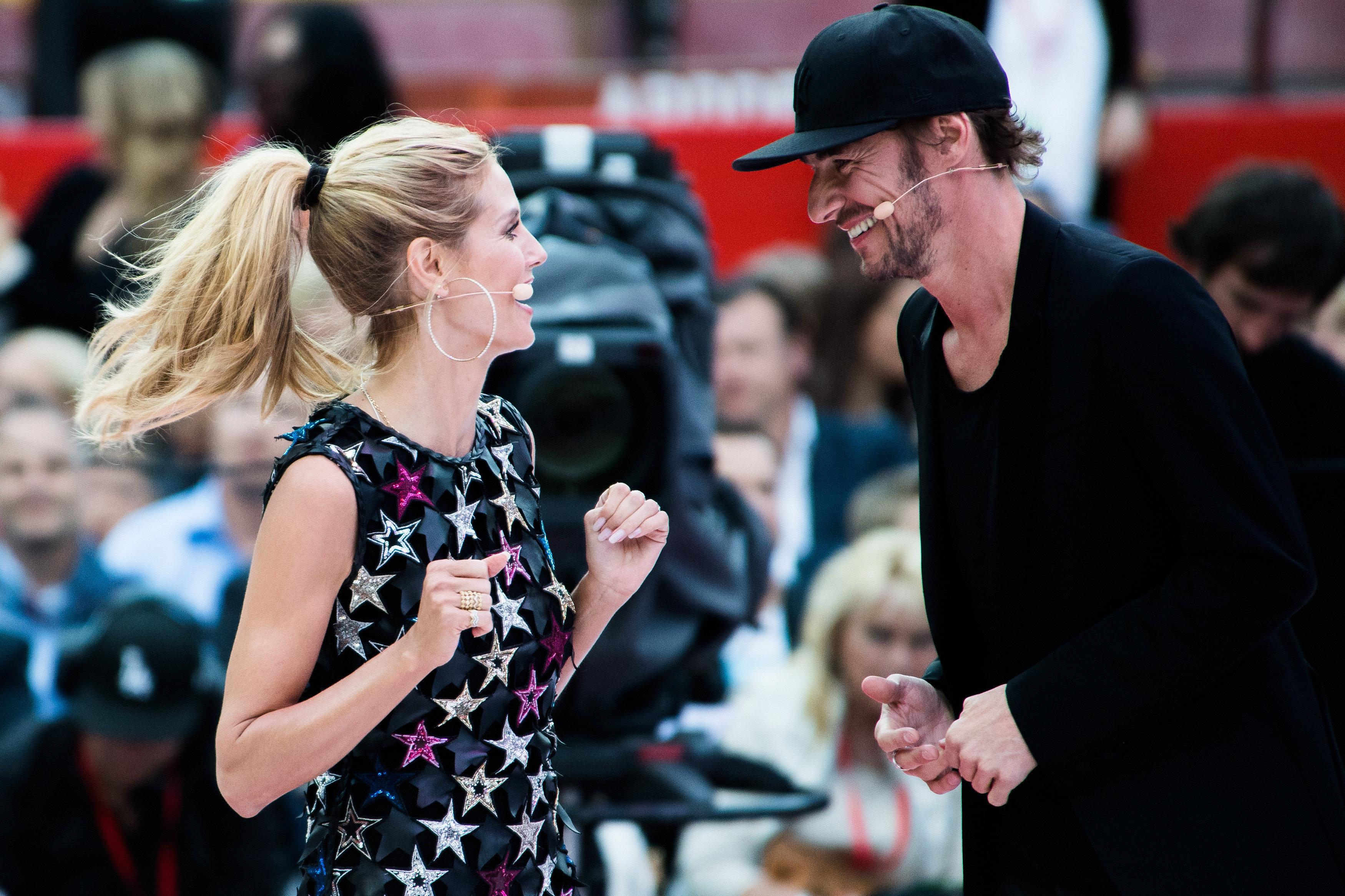 Heidi Klum und Thomas