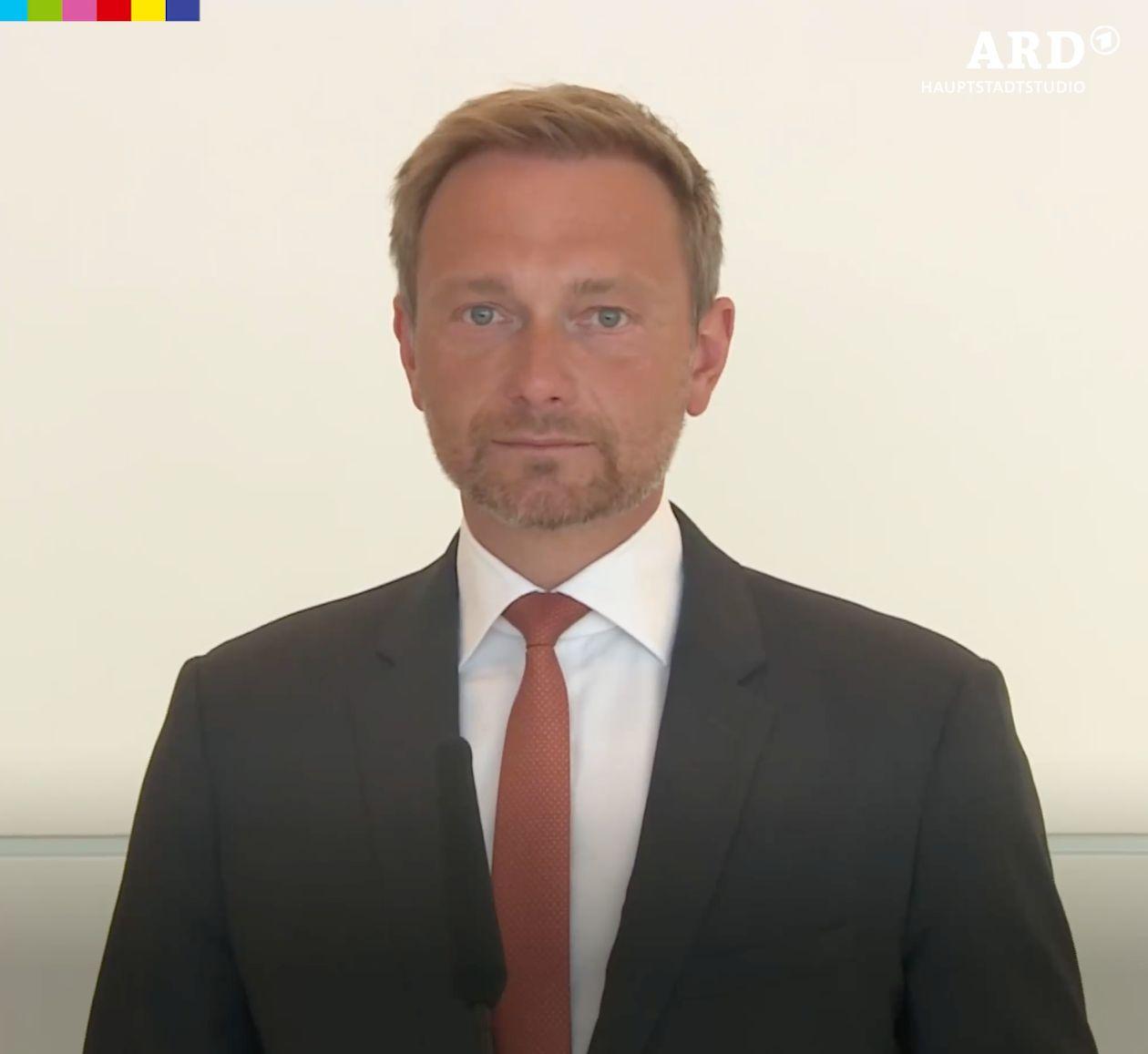 Rede im Bundestag: Immer wenn FDP-Chef Lindner den Mund aufmachte, ertönte ein schrilles