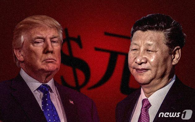 트럼프가 중국에 25% 관세를