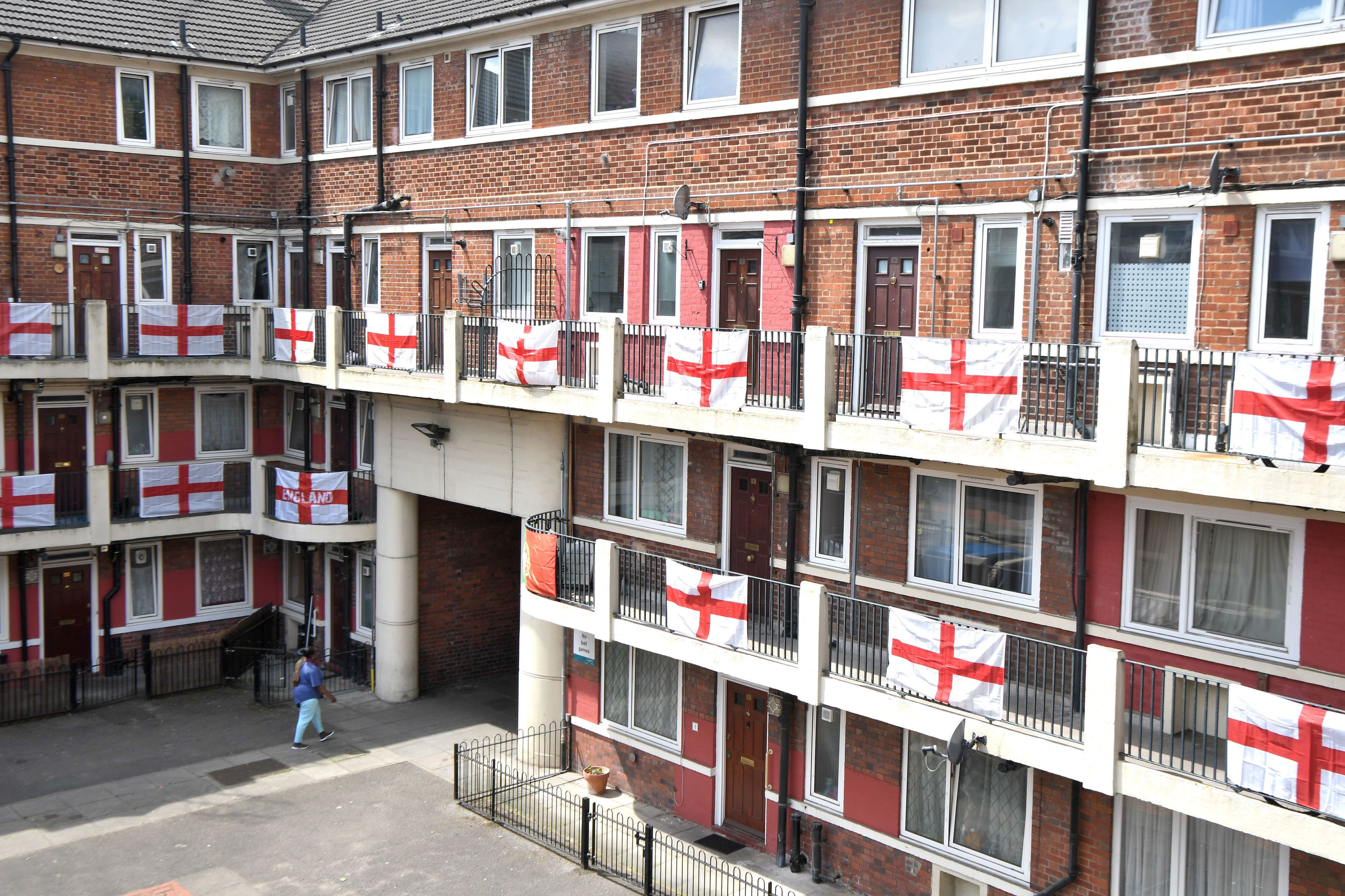 Royal Mail ban England flags 'for health and safety' during World Cup