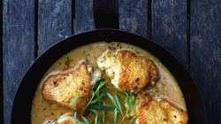 Chicken With Tarragon And