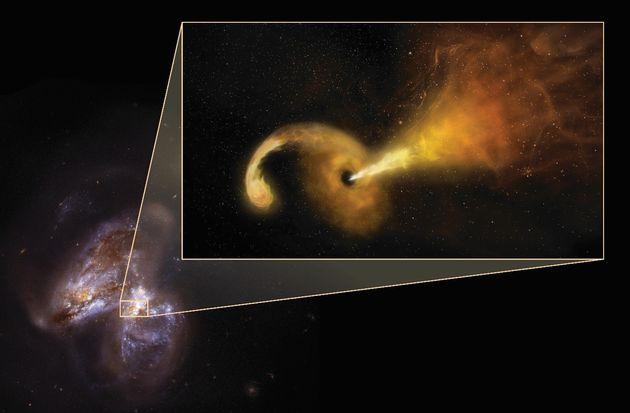 Αστρονόμοι παρατηρούν μία μακρινή έκρηξη όταν μία μαύρη τρύπα καταστρέφει ένα