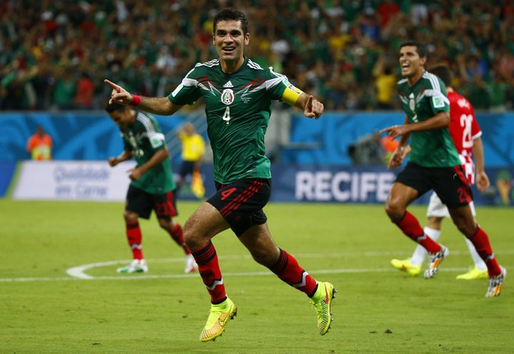 Rafael Márquez is back for his fifth World Cup appearance.