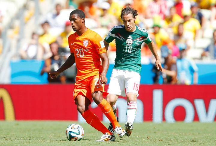 Andrés Guardado and Mexico lost a last-minute heartbreaker to The Nethlerlands at the 2014 World Cup in Brazil, extend
