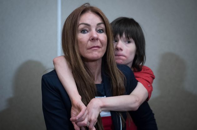 Charlotte Caldwell has said her son Billy is in a 'life-threatening' condition after being denied cannabis...