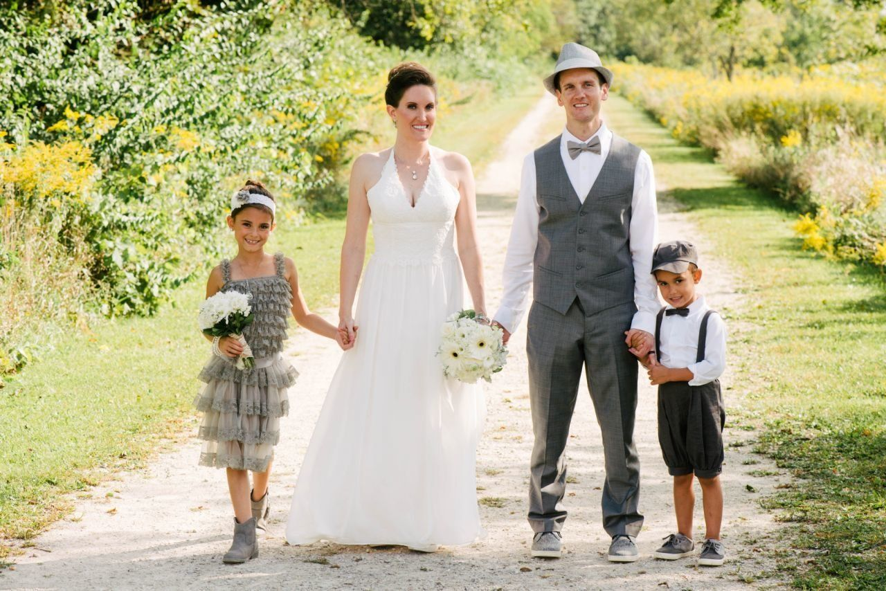 Author Eden Strong with her family.