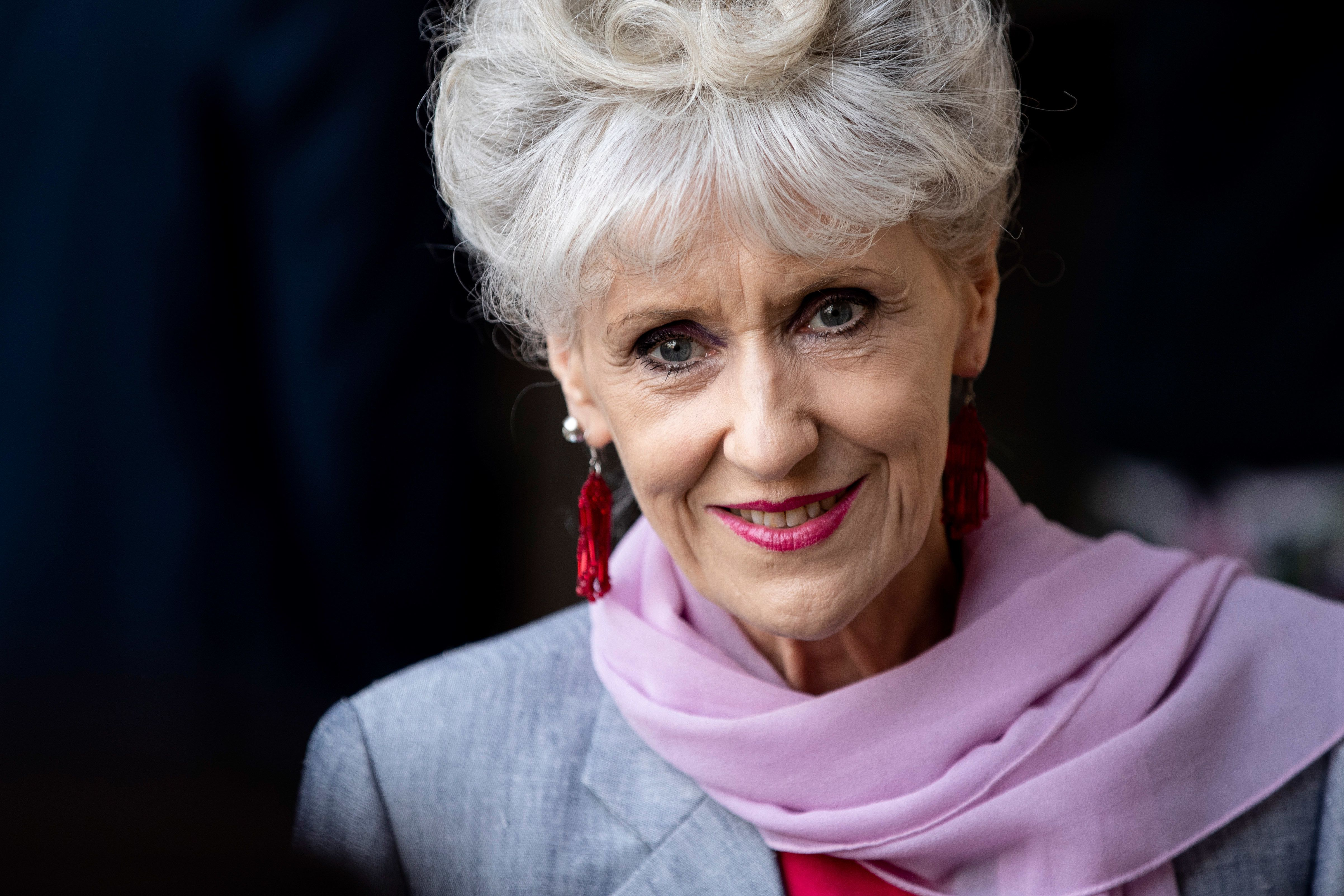 Former 'EastEnders' Star Anita Dobson Pays Her Respects To On-Screen Husband Leslie