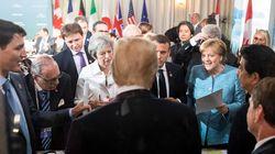 Twitter-Wut über Merkel-Foto: Trump zeigt eigene Bilder vom G7-Gipfel