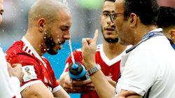 Mondial 2018: Noureddine Amrabat souffre d'une commotion cérébrale, une semaine d'arrêt