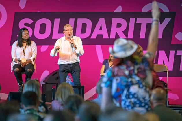 Len McCluskey Tells 'Right Wing' Labour MPs They Got 'Slapped In The Face' At The