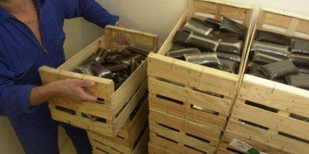 Plus d'une tonne de résine de cannabis saisie au large de Oued