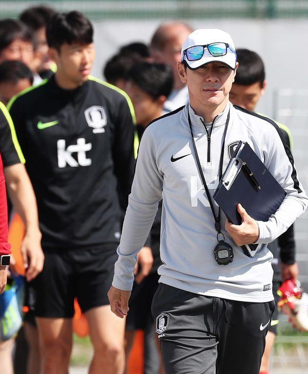 한국 월드컵 대표팀이 스웨덴전 이틀 앞서 니즈니에 도착해 가장 먼저 한