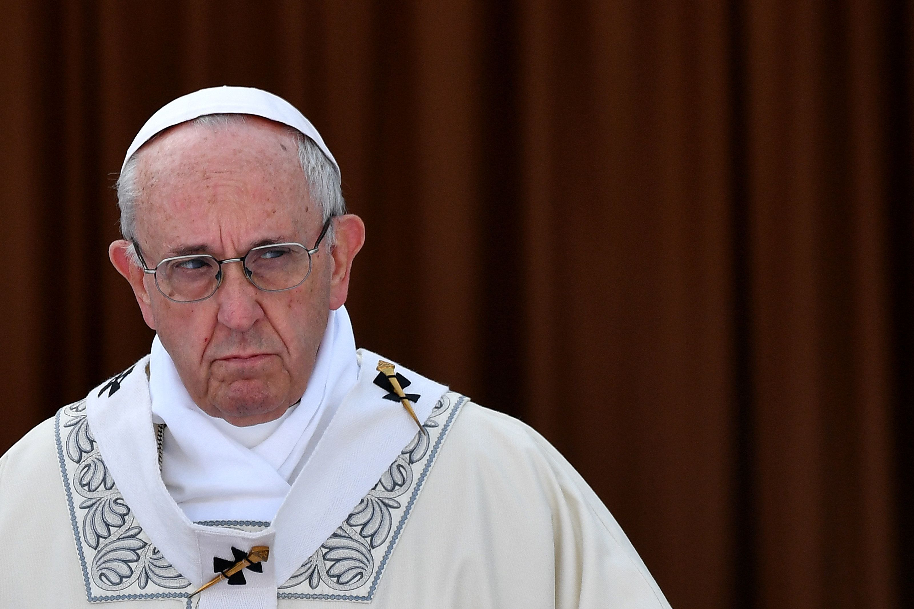 프란치스코 교황이 임신중단을 거세게