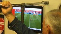 À Moscou, on peut regarder les matchs du Mondial en direct dans le métro