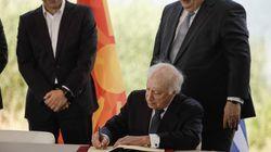 «Έχω τα γενέθλια μου» αλλά «το μεγαλύτερο δώρο μου το έκαναν οι δύο πρωθυπορυγοί» λέει ο Νίμιτς για την υπογραφή της συμφωνία...