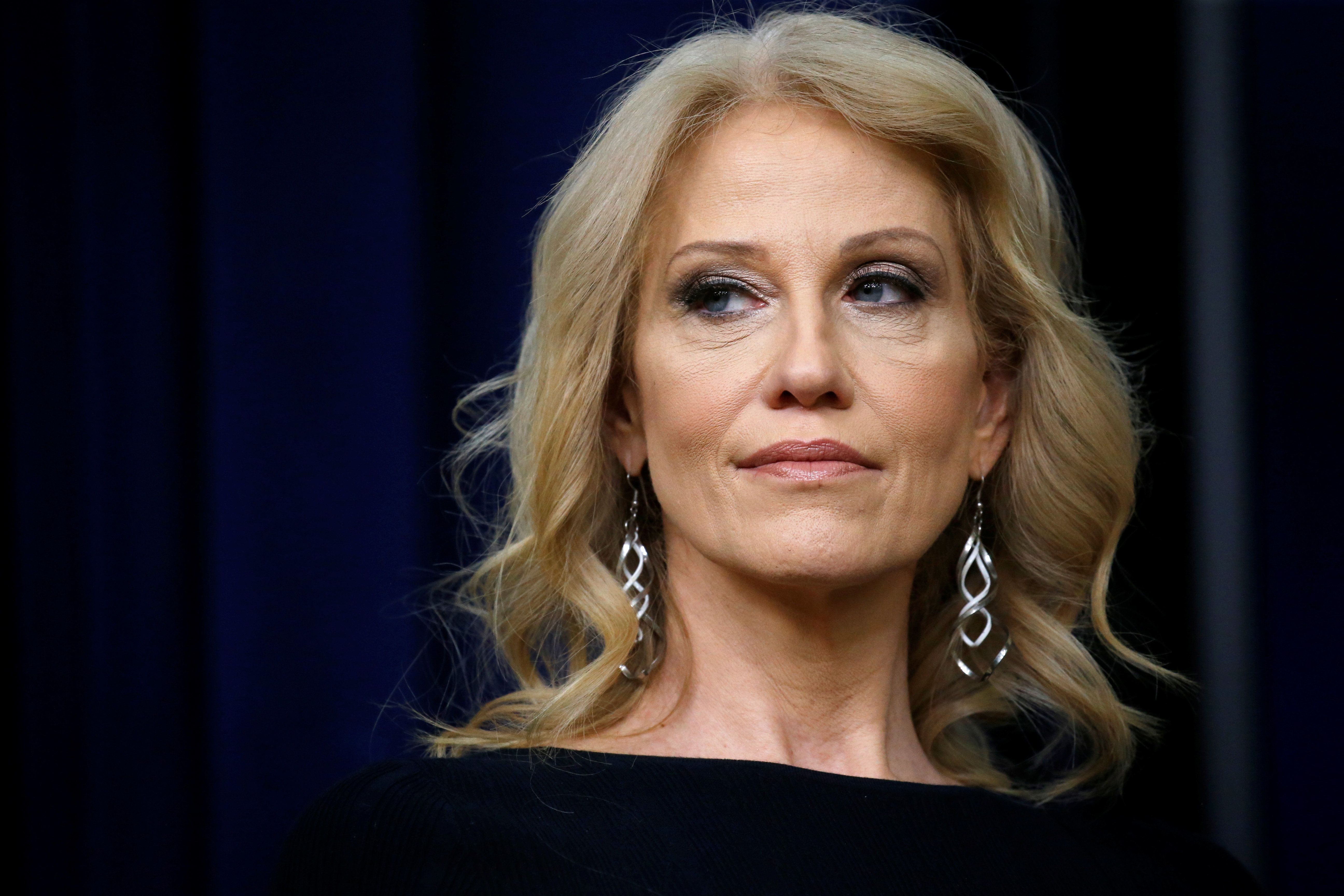 Kellyanne Conway, a top adviser to President Donald Trump.