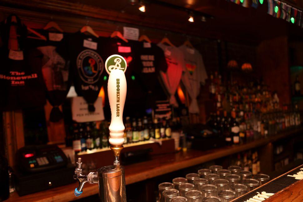 The bar at Stonewall.