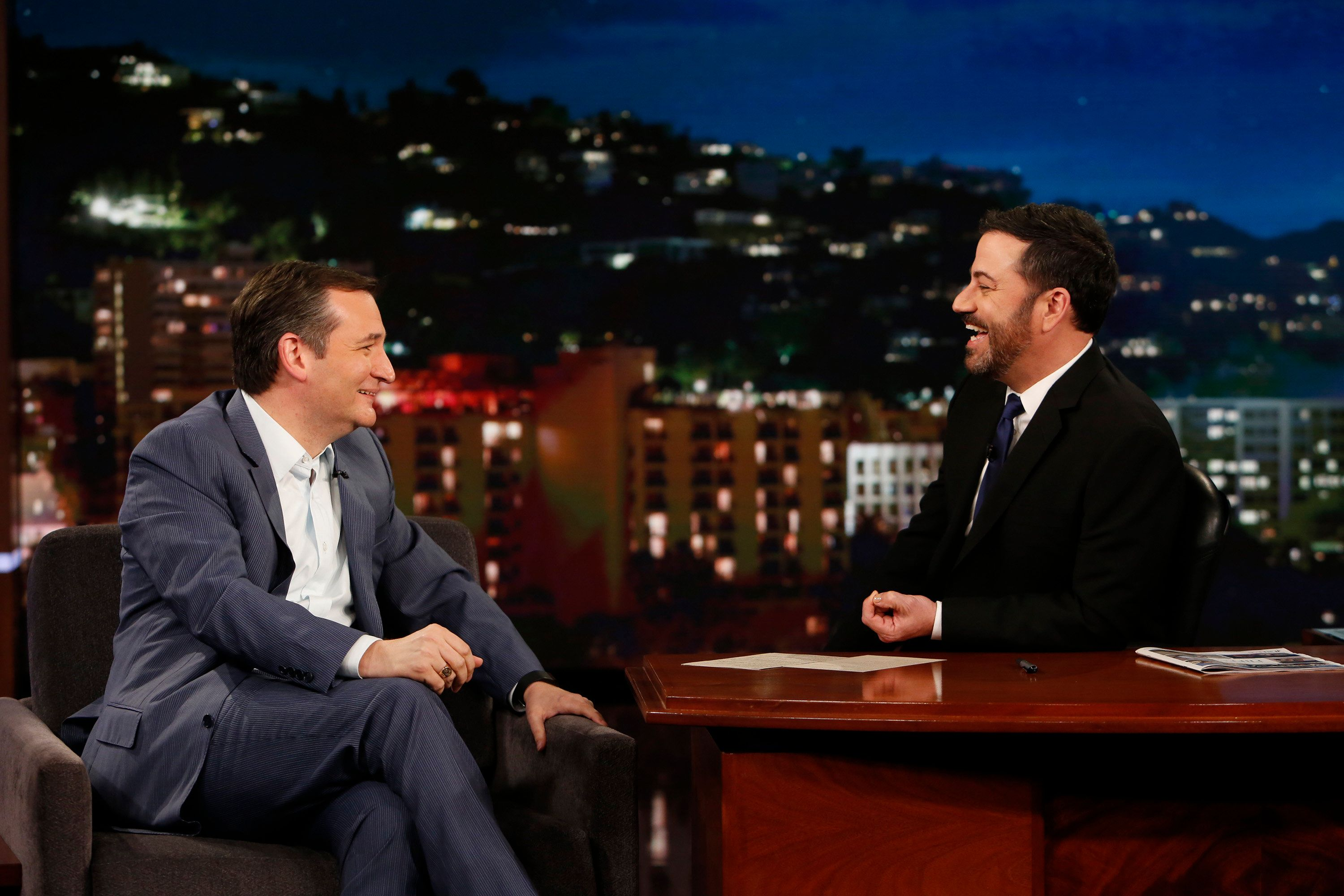 Ted Cruz Beats Jimmy Kimmel In Charity Basketball Competition