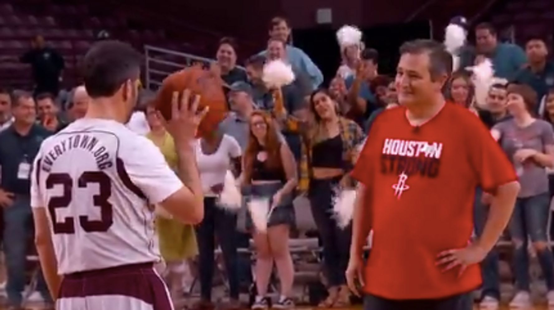 Kimmel Comes Clean About Why He Really Accepted Ted Cruz's Basketball Challenge