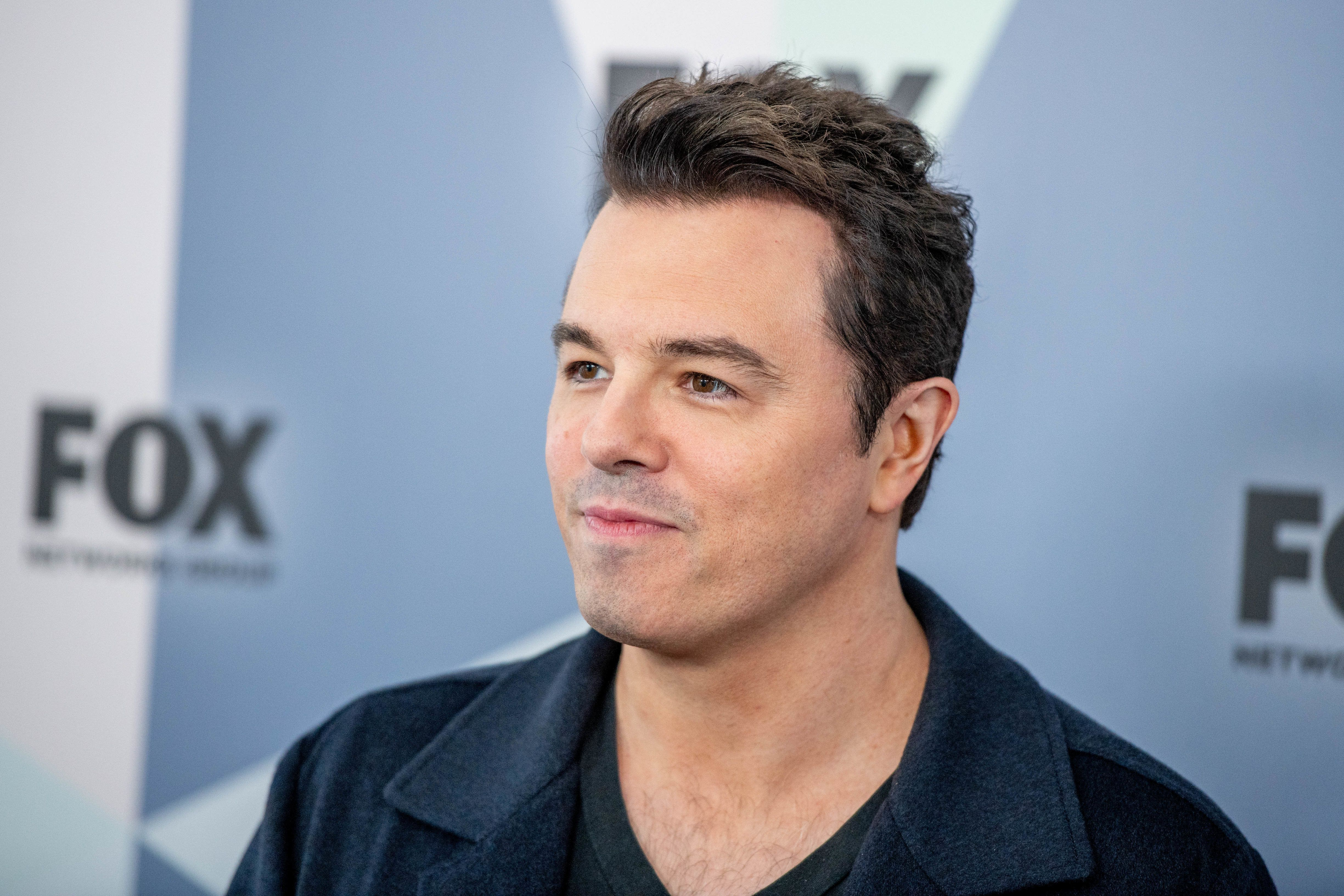 Seth MacFarlane attends a Fox network event in New York City on May 14.