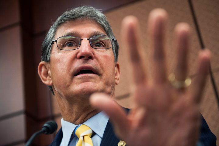 West Virginia Democratic Sen. Joe Manchin's re-election campaign is paying his granddaughter to work as a field organizer, an