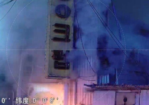 일요일인 17일 오후 9시50분께 군산시 장미동 한 주점에서 방화로 화재가
