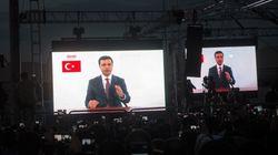 20 μήνες μετά τη φυλάκισή του o Ντεμιρτάς και υποψήφιος του φιλοκουρδικού HDP, εμφανίστηκε στην