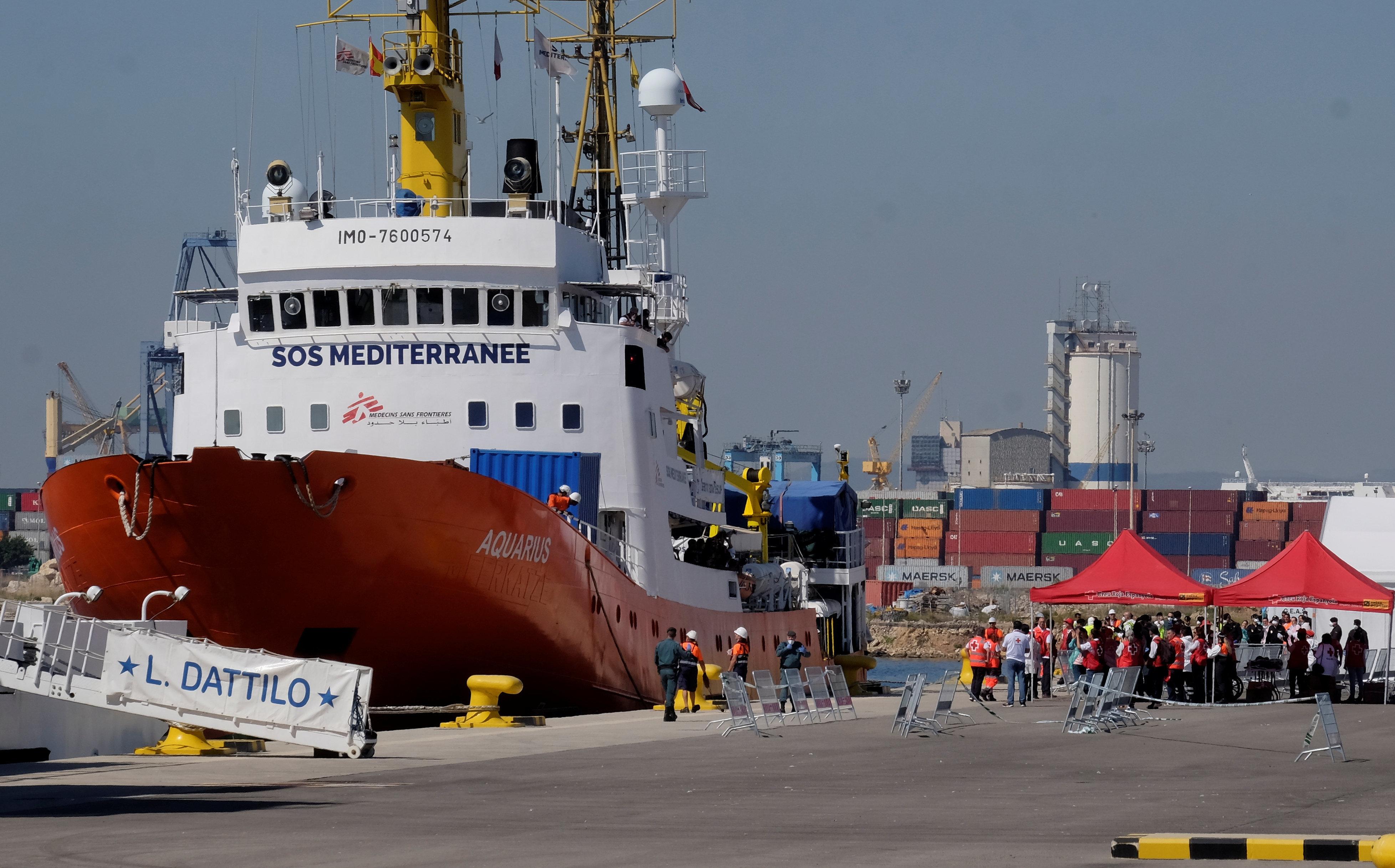 이탈리아와 미국의 비인도적 '난민거부' 조치가 비판받고 있다