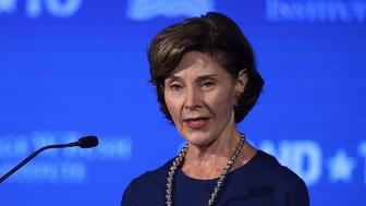WASHINGTON, DC - JUNE 23:  Former U.S. first lady Laura Bush speaks during a conference at the U.S. Chamber of Commerce June 23, 2017 in Washington, DC. The George W. Bush Institute hosted a conference to address veteran issues.  (Photo by Alex Wong/Getty Images)