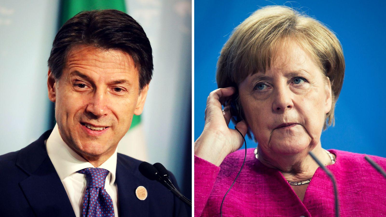 Angela Merkel will Italien bei Flüchtlingskrise helfen - Treffen mit Guiseppe Conte