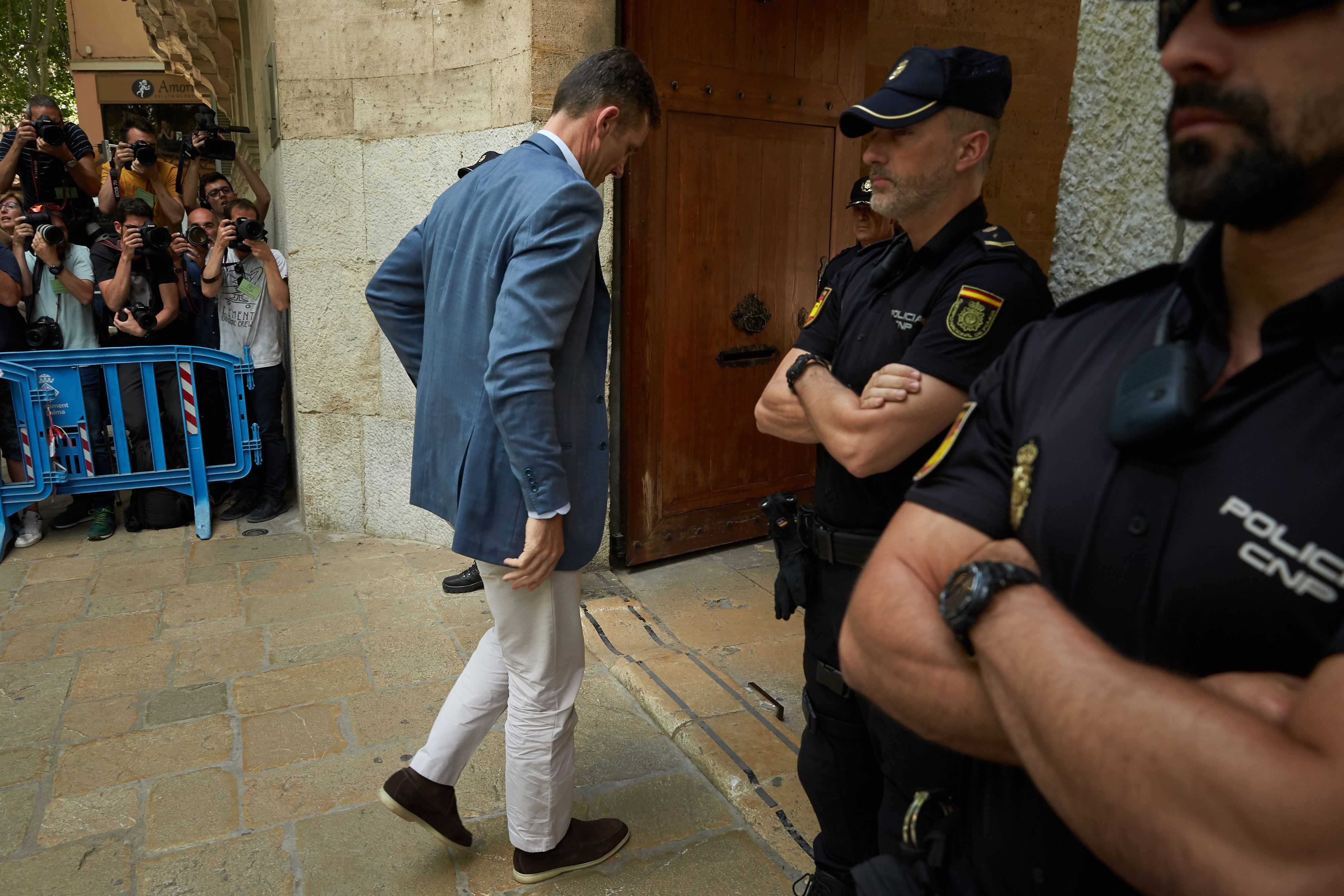 Le beau-frère du roi d'Espagne, Iñaki Urdangarin,