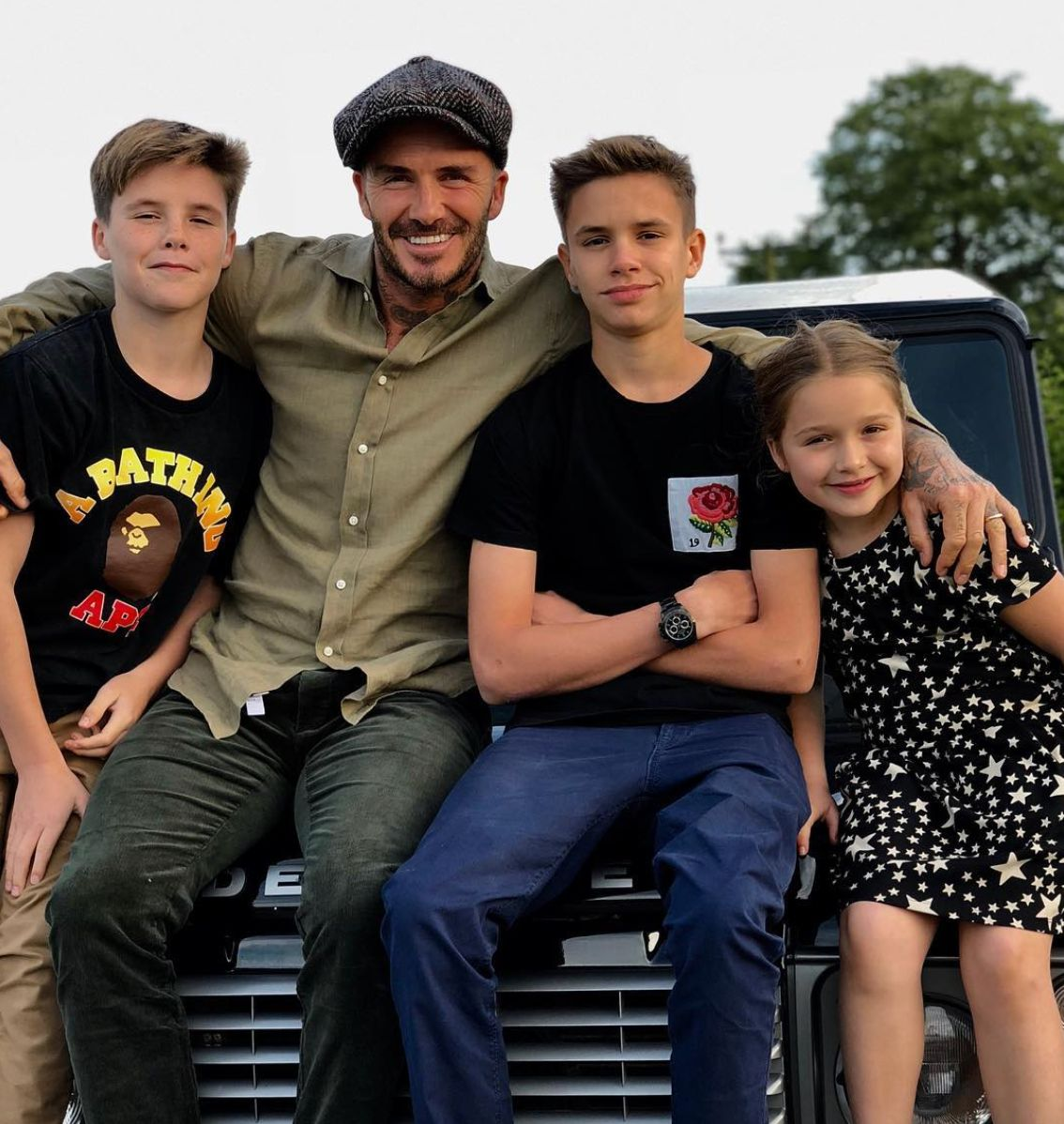 Harper's Poem For David Beckham And Other Heartwarming Celeb Father's Day