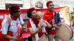 Les supporters tunisiens font le show en Russie