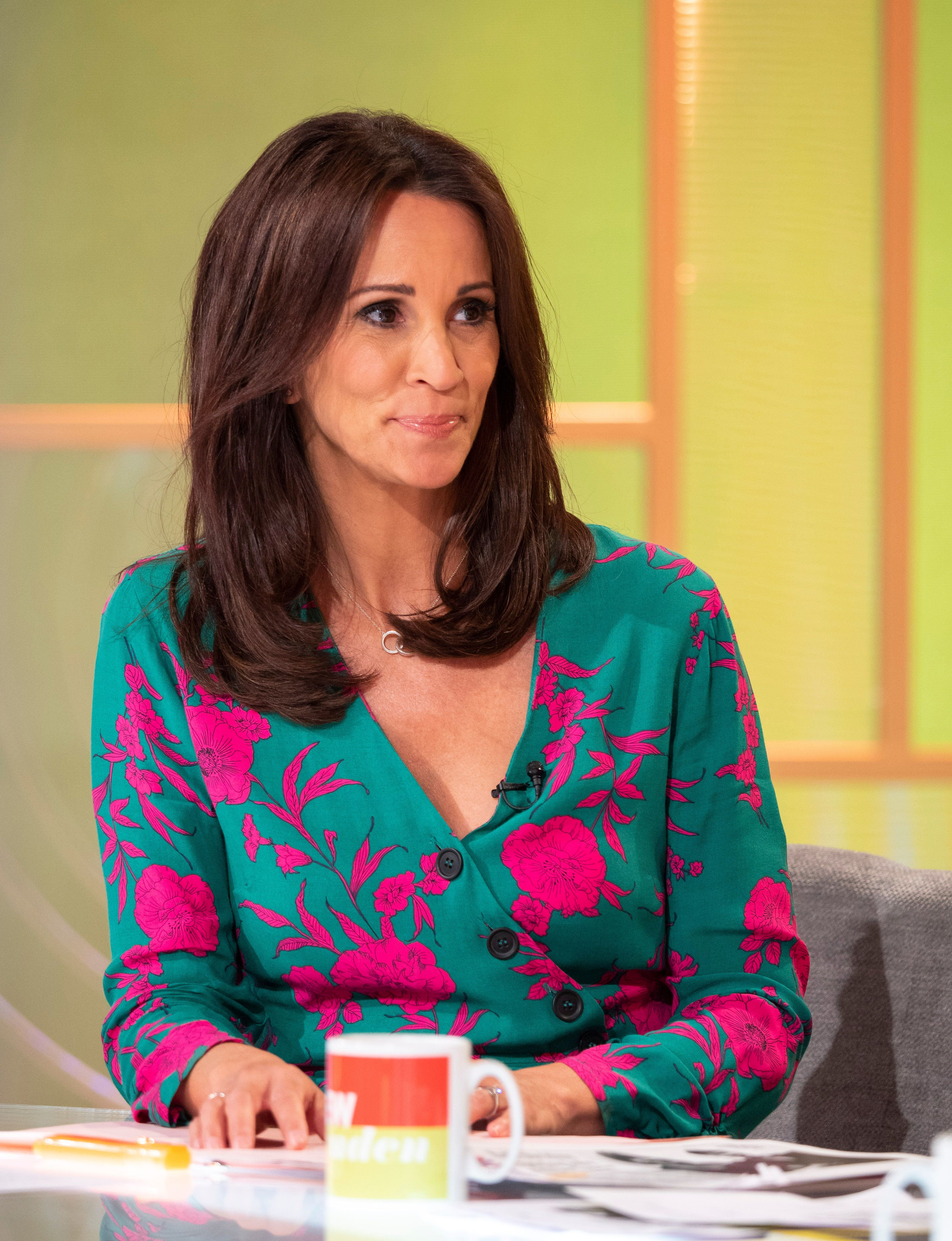 Andrea McLean Says She Feared For Her Life After Being Diagnosed With Rare Blood