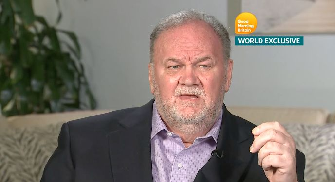 Thomas Markle Breaks Silence About Missing Royal Wedding