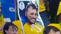 Brésil-Suisse: on tient le déguisement le plus original de cette Coupe du