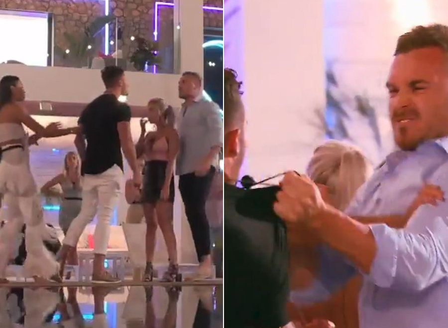 Things all kicked off on the Australian version of 'Love Island'