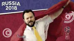 Quand le personnel de l'ambassade des États-Unis en Tunisie soutient l'équipe nationale tunisienne