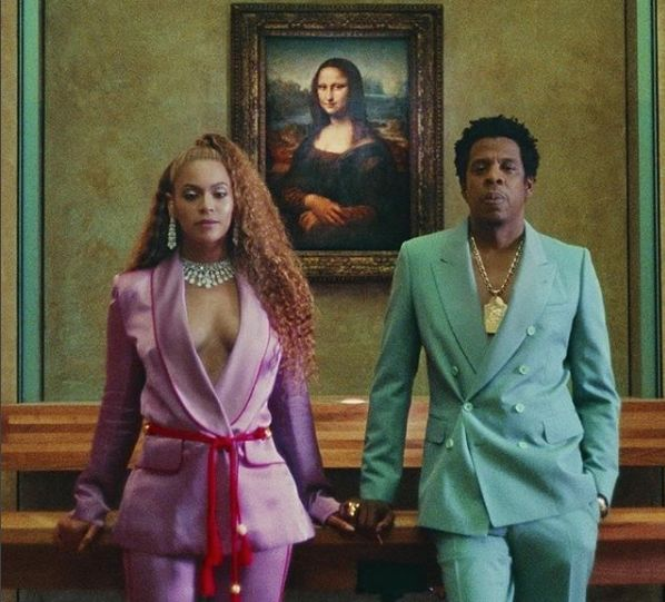 Looks We Love: Beyoncé and Jay Z's Pastel Power Suits In The 'Apesh*t'