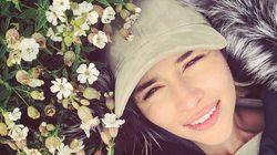 """Game Of Thrones"": Emilia Clarke dit ""goodbye"" à 10 ans de tournage"