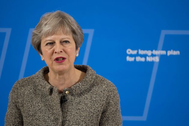 Theresa May has pledged a £20 billion budget boost for the