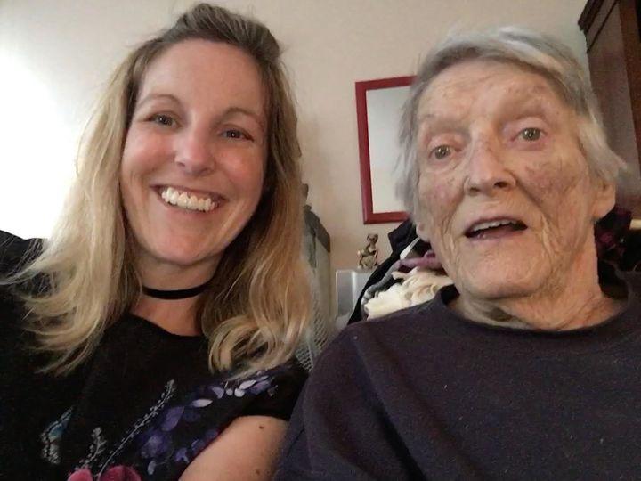 Gemma (left) and Helen.