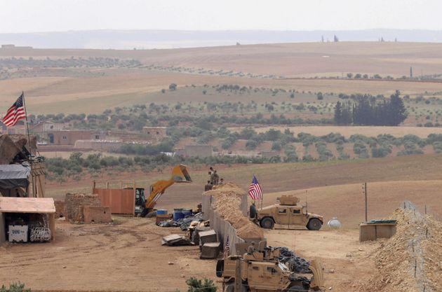 Τουρκικές δυνάμεις στην πόλη Μανμπίζ στη