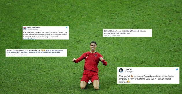 Maroc-Portugal: les supporters des Lions de l'Atlas sont hantés par Cristiano