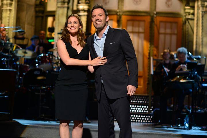 "Jennifer Garner and Ben Affleck appeared together on ""Saturday Night Live"" in 2013."