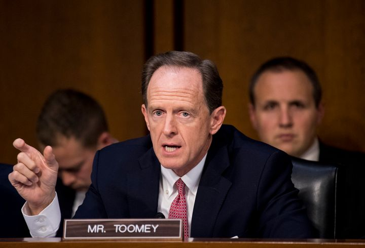 Pat Toomey: Families aren't being separated at the border very much. OK, maybe they are. OK, also we coul