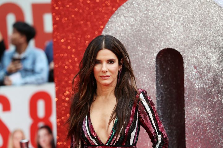 """Actress Sandra Bullock,who stars in """"Ocean's 8,"""" said she initially worried that the Me Too movement could backfire."""