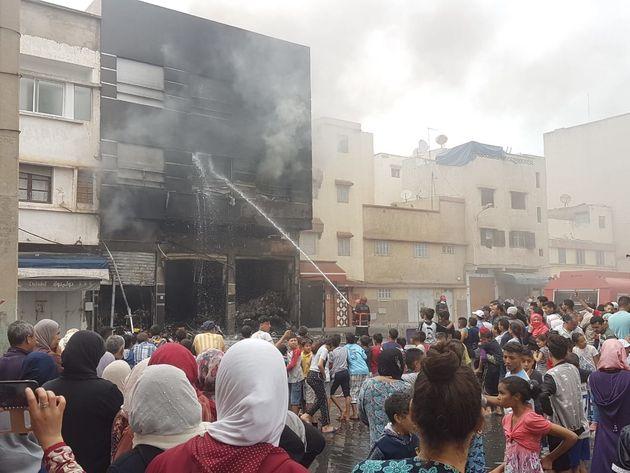 Un incendie ravage un magasin et une maison à Rabat